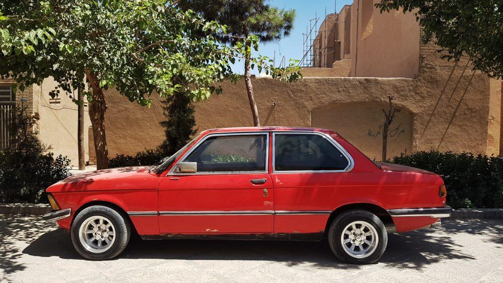 Seltenes Fundstück: Ein BMW