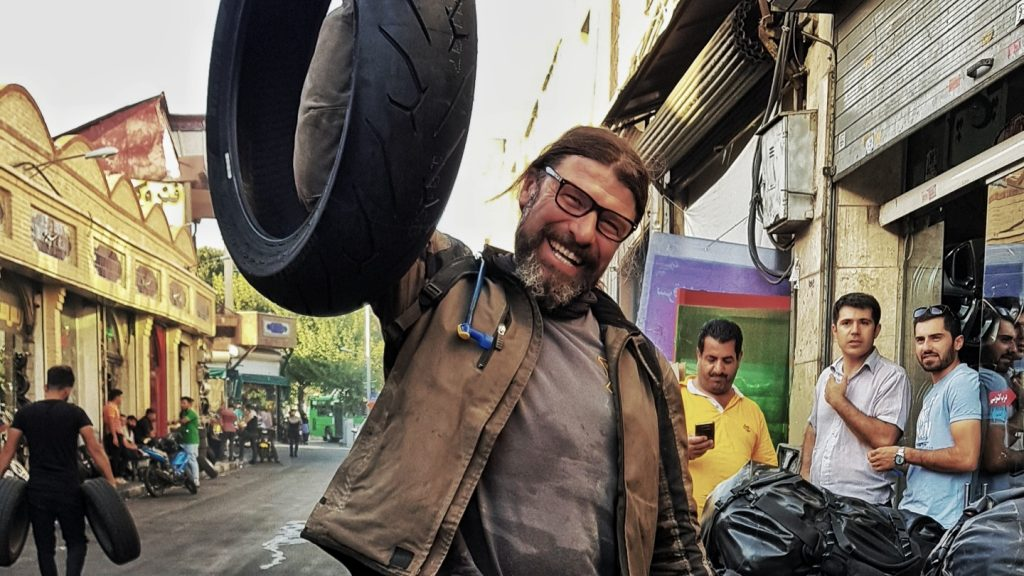 Reifen in Tehran