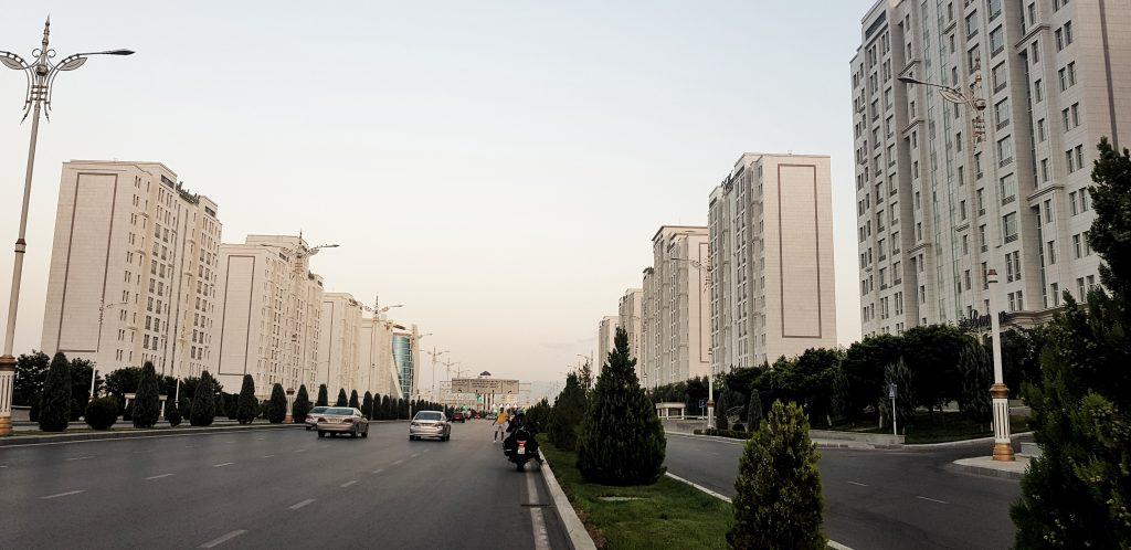 Ashgabat Anreise