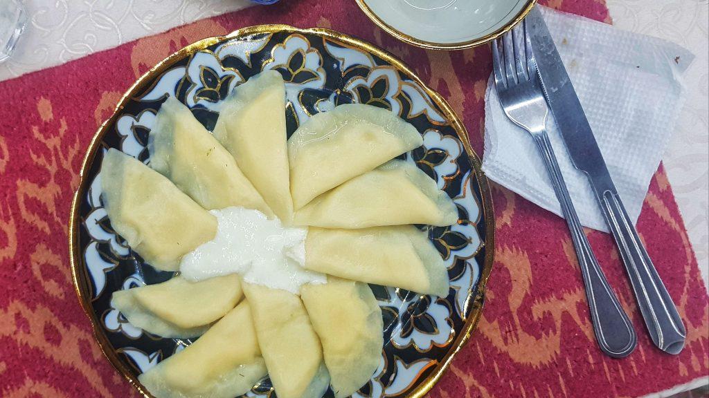 Usbekische Ravioli
