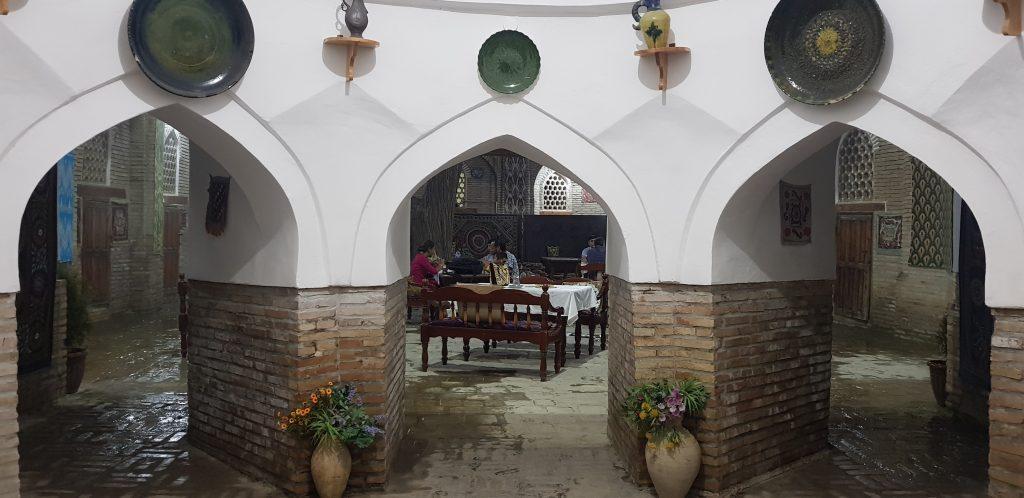 Restaurant in Buchara