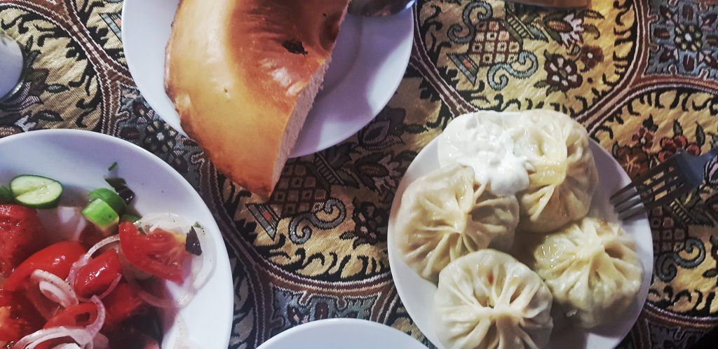 Usbekische Teigtaschen