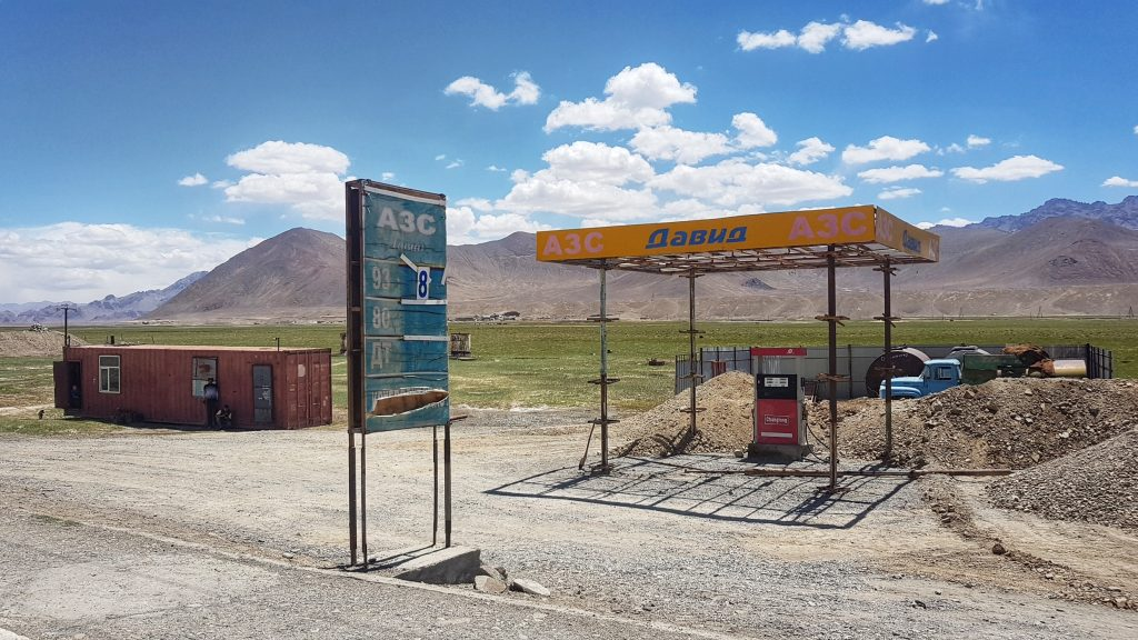 Tankstelle in Murghab