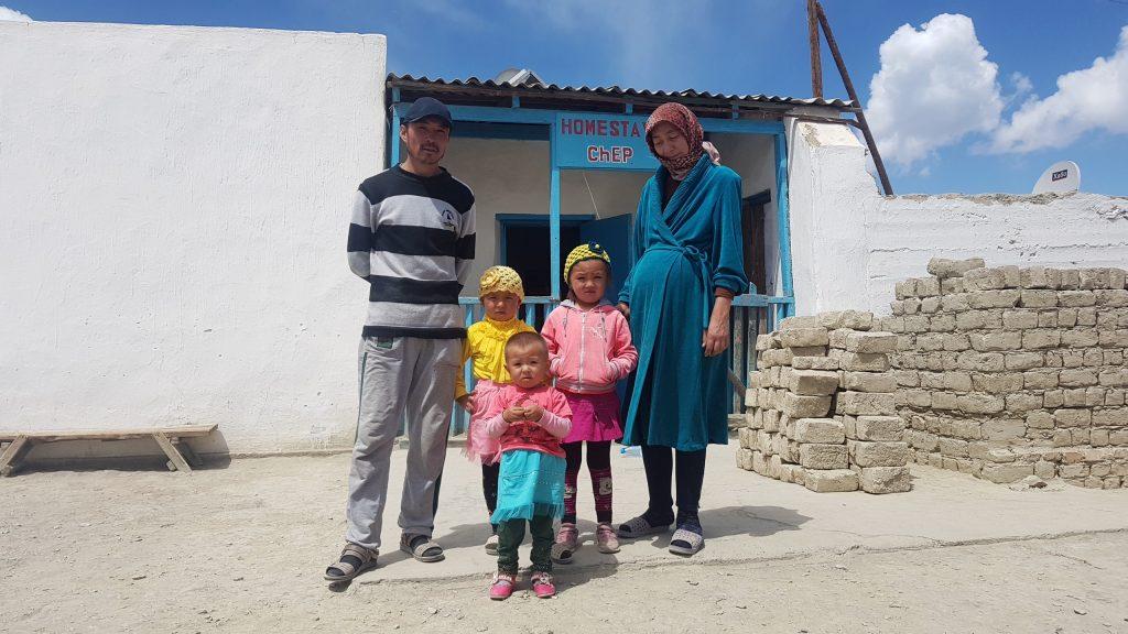Abd und seine Familie