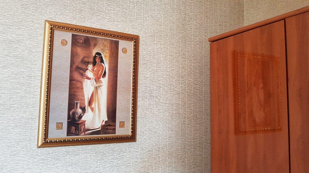 Deko im Hotelzimmer
