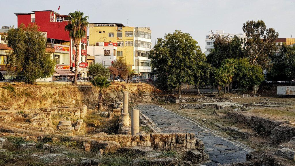 Antike Straße