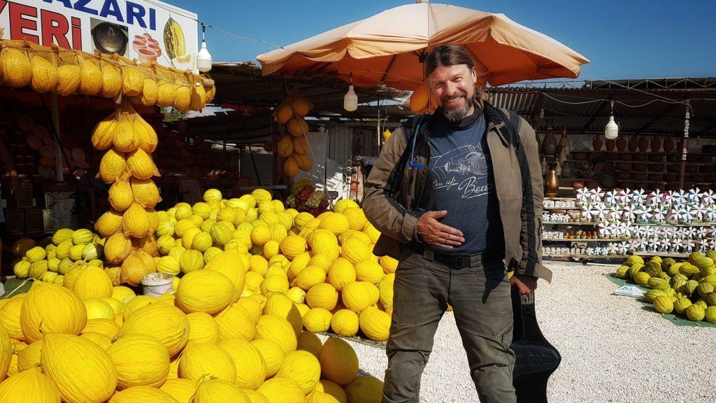 Roland liebt Melone mittlerweile