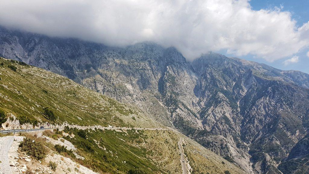 In die Berge Albaniens