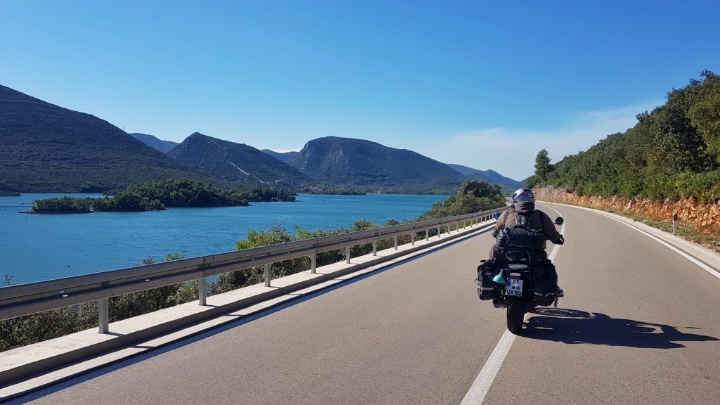 Die Küste in Montenegro