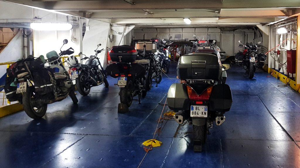 Motorradschlafplatz