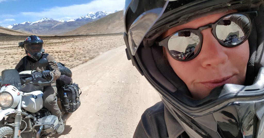 Selfie auf dem Pamir Highway