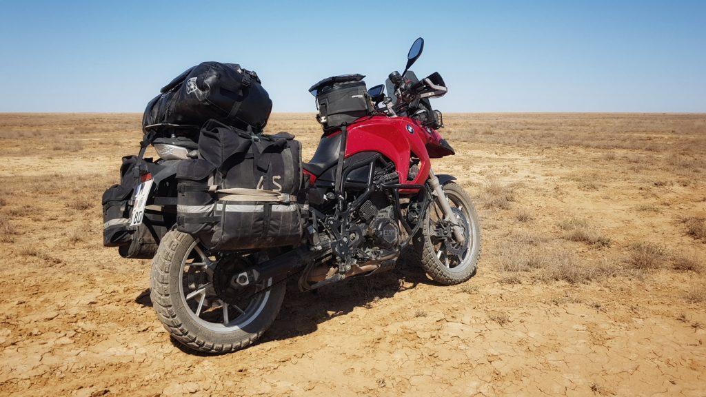 Vollgepackt in Kasachstan